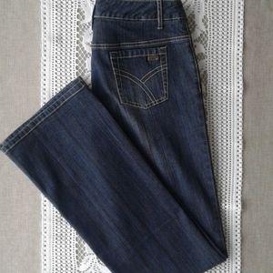 Point zero darker wash jeans